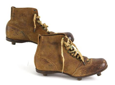 high top football shoes lot detail 1900 10 reach worn high top football