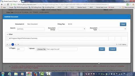 Florida Detox Licensing Portal by Florida Courts E Filing Portal Filing Large Documents