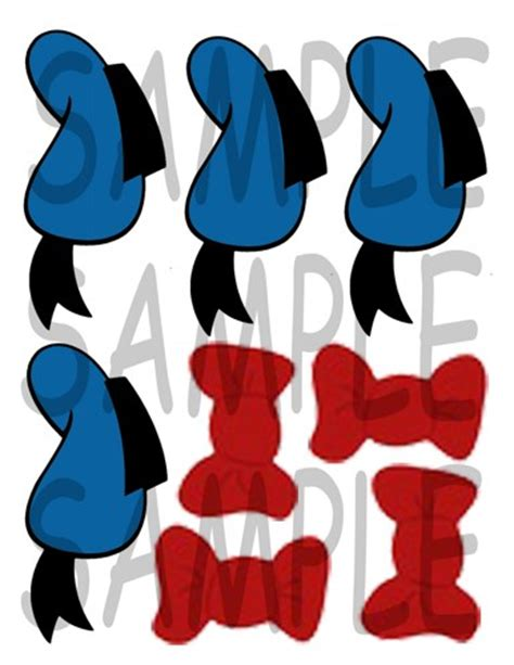 Minnie Mouse Home Decor by Donald Duck Diy Goody Bag Toppers Decor And More Diy
