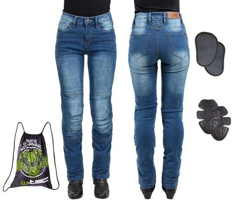 Motorrad Jeans Kevlar Damen by W Tec Lustipa Damen Motorradjeans Insportline