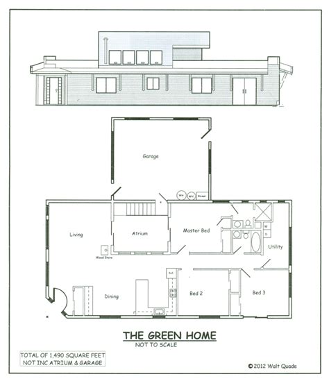 off grid house plans a sustainable off grid house set in the navajo reservation