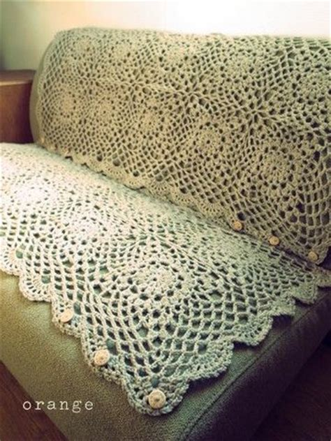 crochet sofa cover orange crochet sofa cover diy adventures