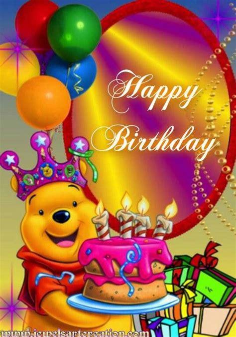 imagenes de happy birthday to my grandson happy birthday forever pooh pinterest gl 252 cklich