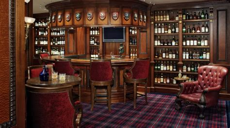the garage bar or the ultimate cave this s a real scotch his collection features
