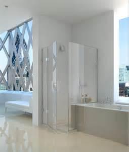 Half Bath With Shower tellenium 10 inline panel amp door amp return panel over a
