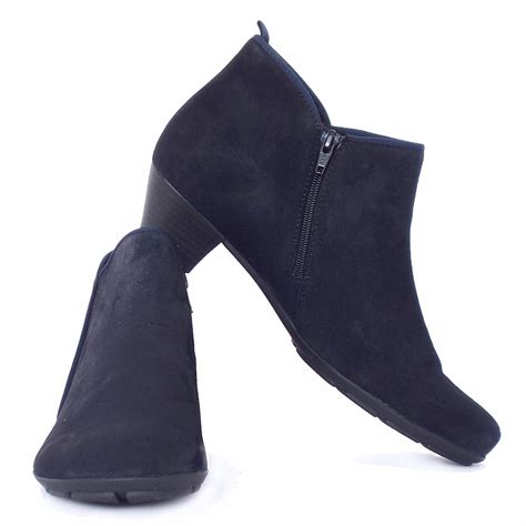 womens navy blue boots gabor ankle boots trudy navy suede ankle boots