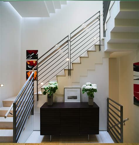 Townhouse Stairs Design Smart New York City Townhouse Renovation Breezy Modern Design