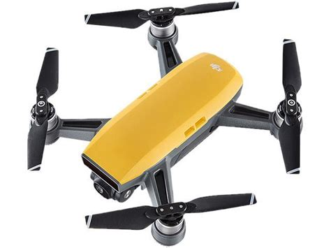 New Dji Spark Fly More Combo Quadcopter Yellow Grs 1 Tahun dji spark mini quadcopter drone fly more combo yellow newegg ca