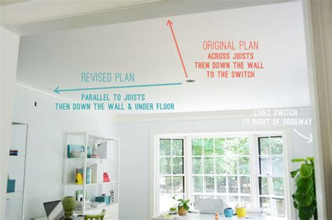 how to install a ceiling light without existing wiring how to install a ceiling light without existing wiring