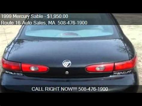 tv ls for sale 1999 mercury sable ls for sale in douglas ma 01516