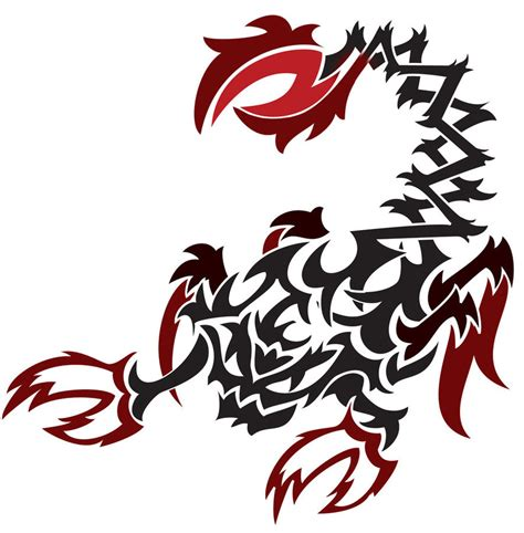 tribal scorpion clipart best