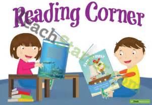 Desk Name Plates Reading Corner Poster Kids Reading