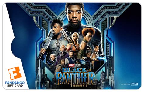 Where Are Fandango Gift Cards Accepted - black panther giveaway win 25 fandango special edition gift card blackfilm com
