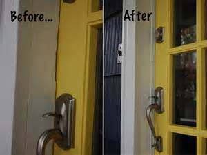exterior door weather stripping replacement weatherstripping your front door diy project aholic