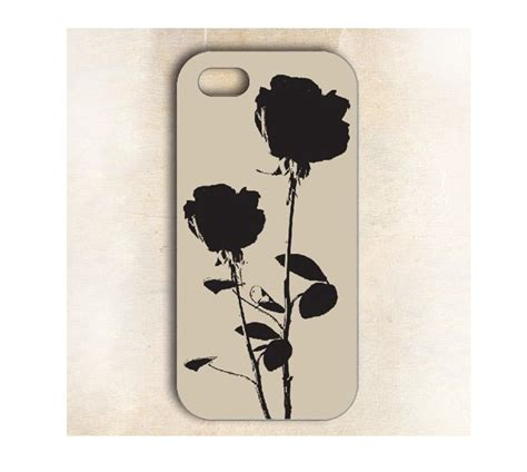 Floral Blink 3 Cover For Iphone 5 5s artist black floral for iphone 5 5s on luulla