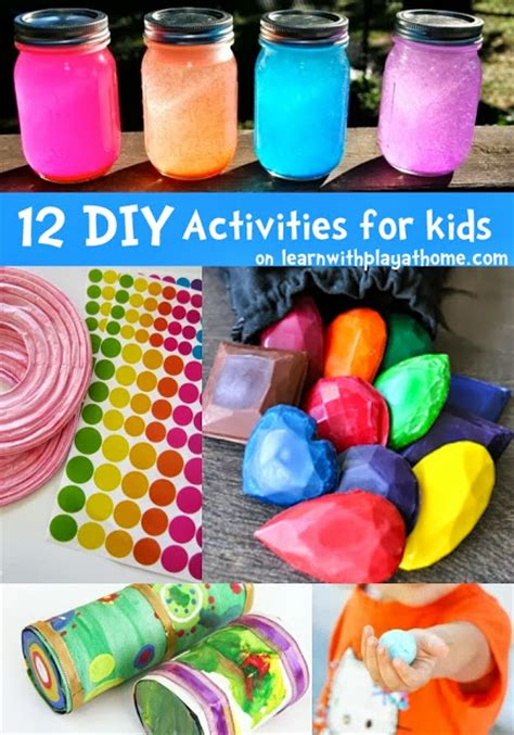 diy projects for kids learn with play at home 12 fun diy activities for kids
