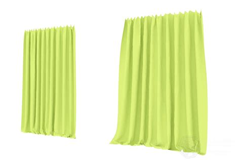 Wide Curtains Wide Curtains Free 3d Model Max Obj Dae Lxo Cgtrader
