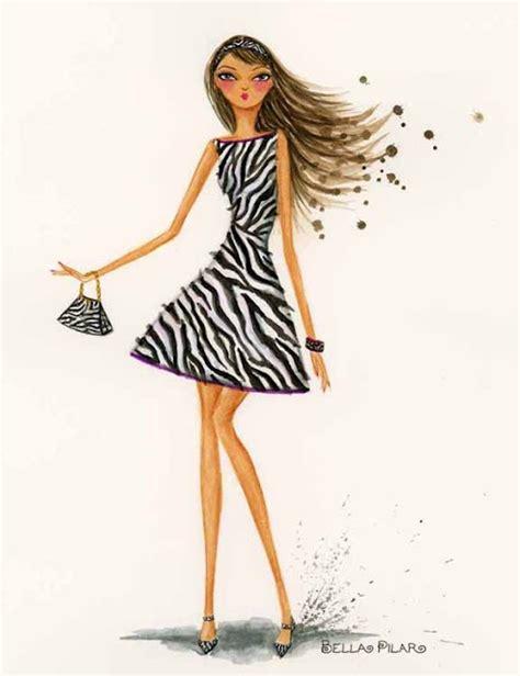 zebra fashion illustration 445 best images about papyrus on