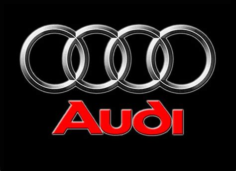 Audi Official Logo Audi Logo Audi Wallpaper