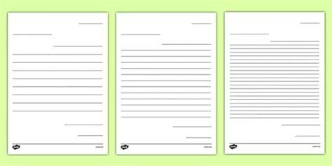 letter future teacher writing template worksheet