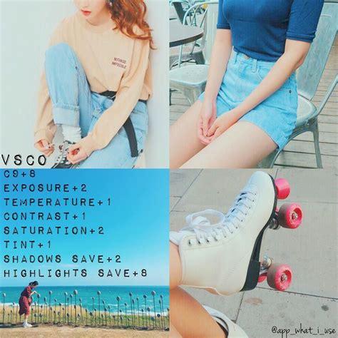 tutorial vscocam lightroom ᏉsᏟᎾ色調教學 app vsco 這個色調用在陽光下比較適合 或是閃光燈拍的照片也是可以總之只要照片色彩很