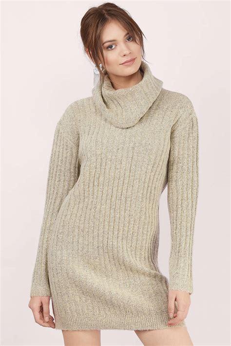Sweater Dresses by Grey Day Dress Grey Dress Cowl Neck Dress Day