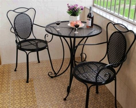 Wrought Iron Patio Table And Chairs Wrought Iron Tables And Chairs Carved Yiyuan Three Balcony Outdoor Patio Table And Chairs