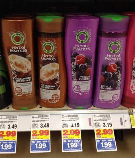 kroger mega sale herbal essences hair care only 0 69 kroger herbal essences shoo or conditioner only 0 49