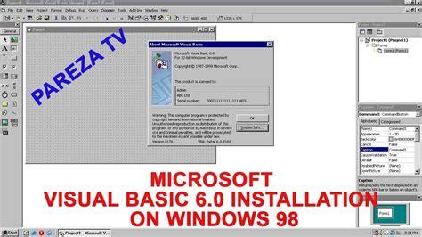 visual studio tutorial in urdu pdf vb6 tutorial in urdu installing visual studio 6 on