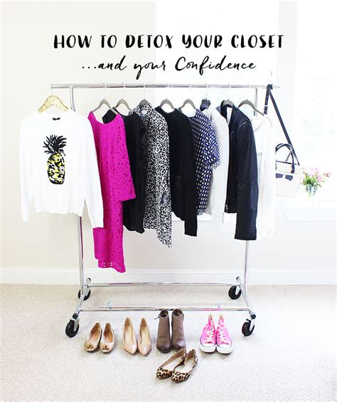 Closet Detox by How To Detox Your Closet And Your Confidence