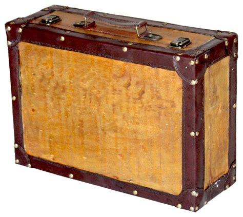 Decorative Suitcase by Vintage Style Suitcase Large Traditional Decorative