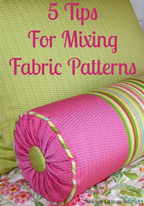 how to mix patterns how to mix fabric patterns newton custom interiors