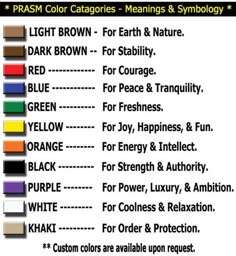 american color meanings the world s catalog of ideas