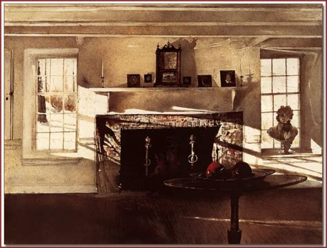 big room wyeth big room 1948 tempera harp