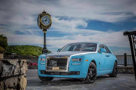 roll royce ghost blue 2014 rolls royce ghost alpine trial centenary front three