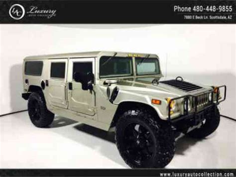 hummer h1 wagon | custom wheels & tires | leather | brush