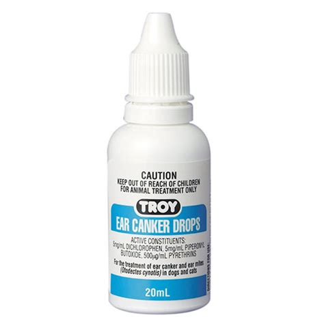 ear drops for dogs buy troy ear canker drops for dogs and cats