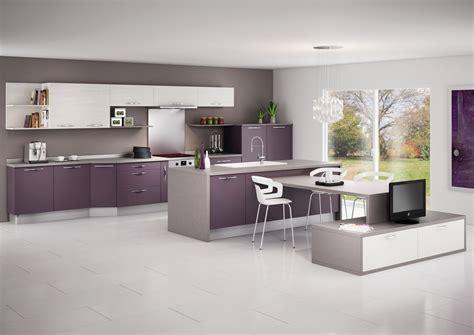 tele cuisine cuisine mod 232 le glac 233 e en stratifi 233 mat de couleur ou d 233 cor