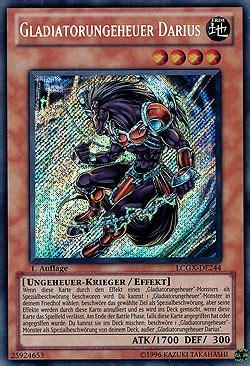 gladiatorungeheuer deck gladiatorungeheuer darius yugioh wiki