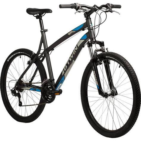 cuadro de bicicletas de monta a bicicleta de monta 209 a btwin rockrider 340 gris 26 quot b twin