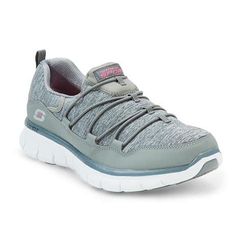 skechers memory foam shoes for skechers s asset play gray memory foam walking shoe