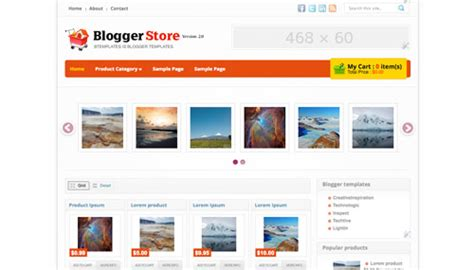 free store template 15 free templates for shops and stores