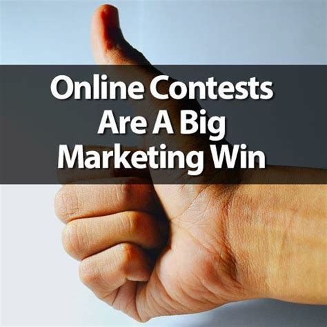 Online Giveaway - online contests are a big marketing win stir marketing