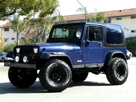 Navy Blue Jeep Wrangler 1000 Ideas About Jeep Wrangler Yj On Jeep