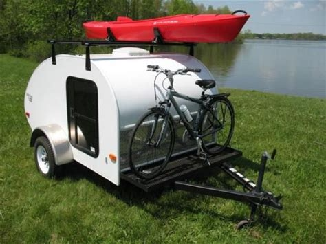 Tent Trailer Bike Rack by Kayak Rack Up Top And Bike Rack In Front Teardrops And
