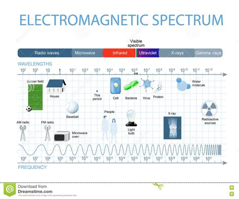 Electromagnetic L by Electromagnetic Spectrum Stock Vector Image Of Cell