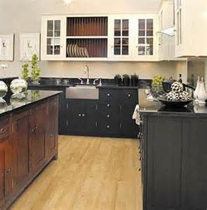 Kitchen With Black And White Cabinets Attic Mag 187 Archive 187 Black White And Wood Kitchen Design Bookmark 10848