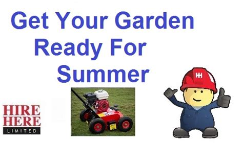 Landscaper For Hire Summer Garden And Landscaping Machine Hire Hire Here Ltd
