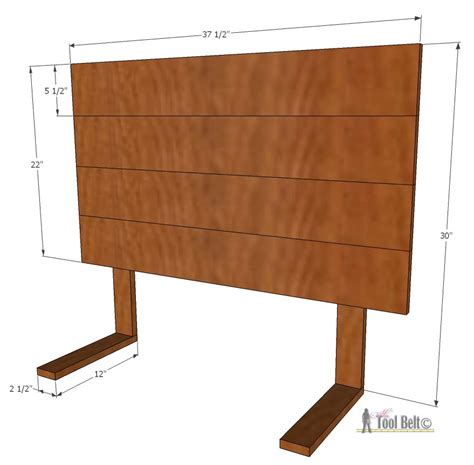 simple headboard plans simple headboard and dusty theme room her tool belt
