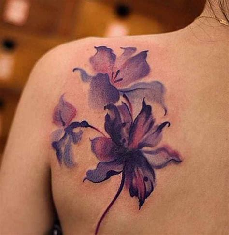 violet tattoo designs violet flower designs ideas